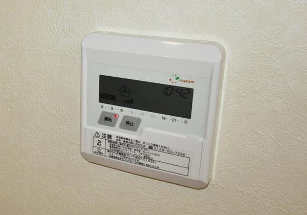省エネ床暖房も装備可能(オプション)