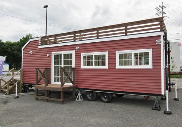 屋上付き小型店舗モデル