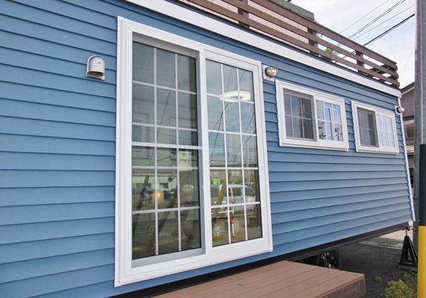 高気密・高断熱の樹脂サッシ&ペアガラス窓を装備