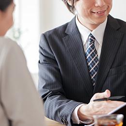 STEP04 下取り額・購入額が決まったら売買契約をする。
