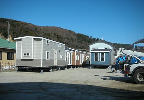 復興のための宿舎30名が宿泊するとの事