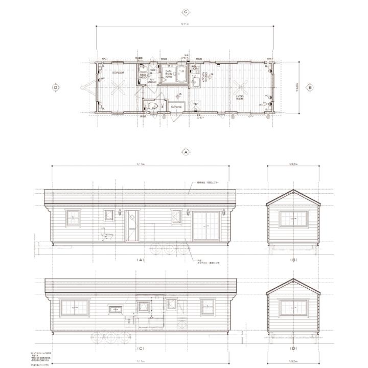 C1132 ロフト無:10.5m×3.2m