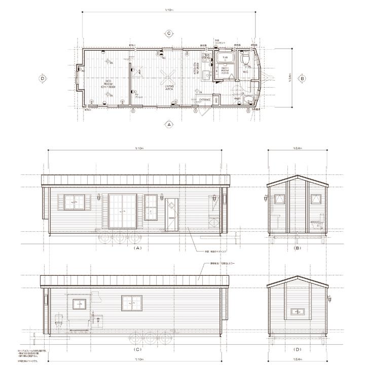 10m×3.4m(ロフト無):P1034