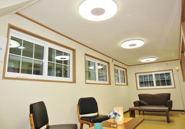 LED照明を装備